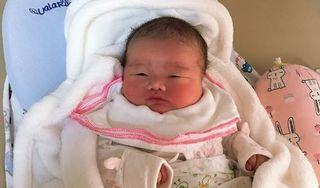 Hy hữu: Bé sơ sinh ở Phú Thọ nặng tới 5,1 kg