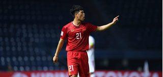 Đình Trọng: 'Toàn đội sẽ thể hiện một trận đấu tốt trước U23 Triều Tiên'