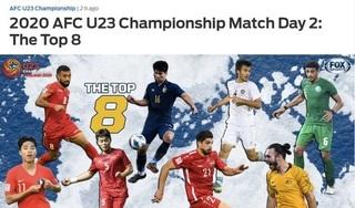 Tiền vệ của U23 Việt Nam được báo châu Á vinh danh
