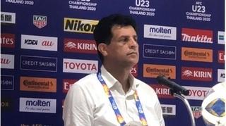 HLV U23 Iraq 'tâm phục khẩu phục' trước U23 Thái Lan