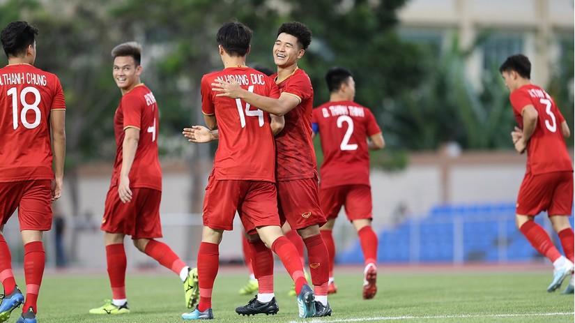 U23 Việt Nam lên chơi tấn công trước U23 Triều Tiên