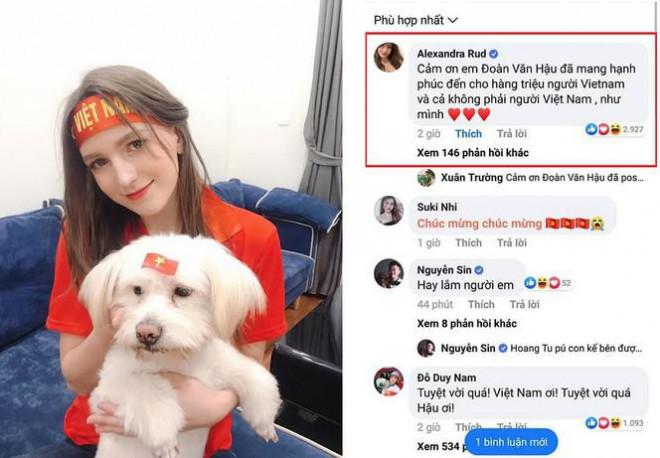 Nữ DJ Ukraine thả thính Văn Hậu nói gì khi bị nghi lộ clip nóng4