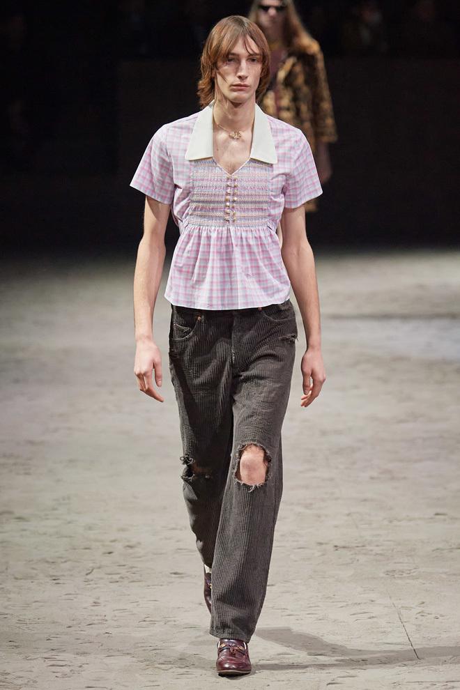BST của Gucci phản đối sự nam tính khiến dân tình 'choáng váng'