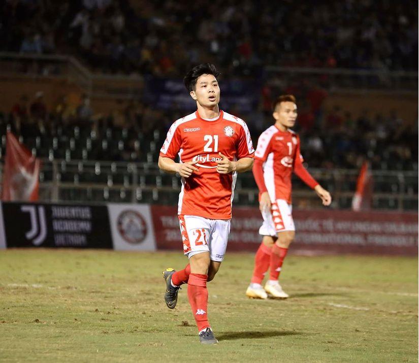 Công Phượng có trận ra mắt CLB TP HCM trong trận so tài với CLB Ulsan Hyundai