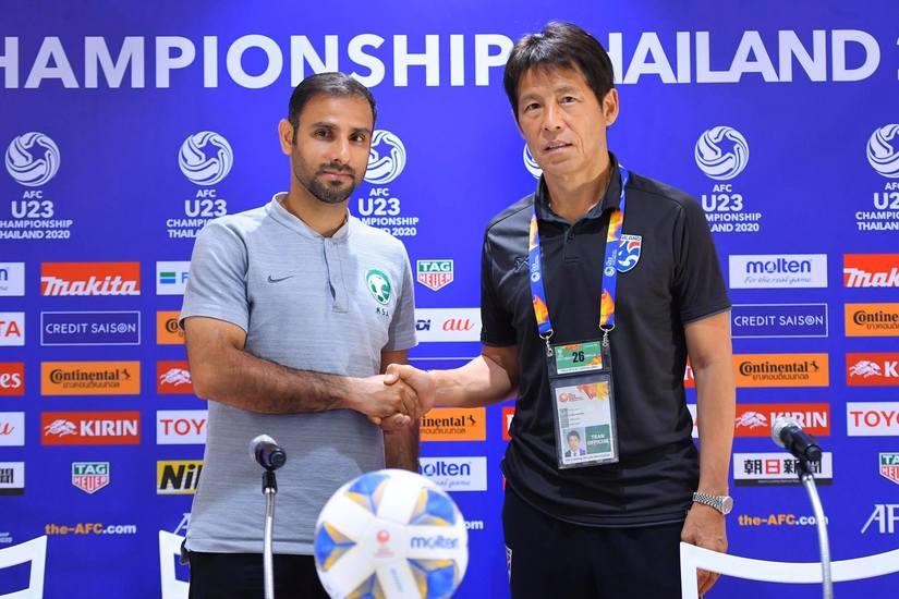 HLV U23 Saudi Arabia xem nhẹ trận đối đầu với Thái Lan ở tứ kết