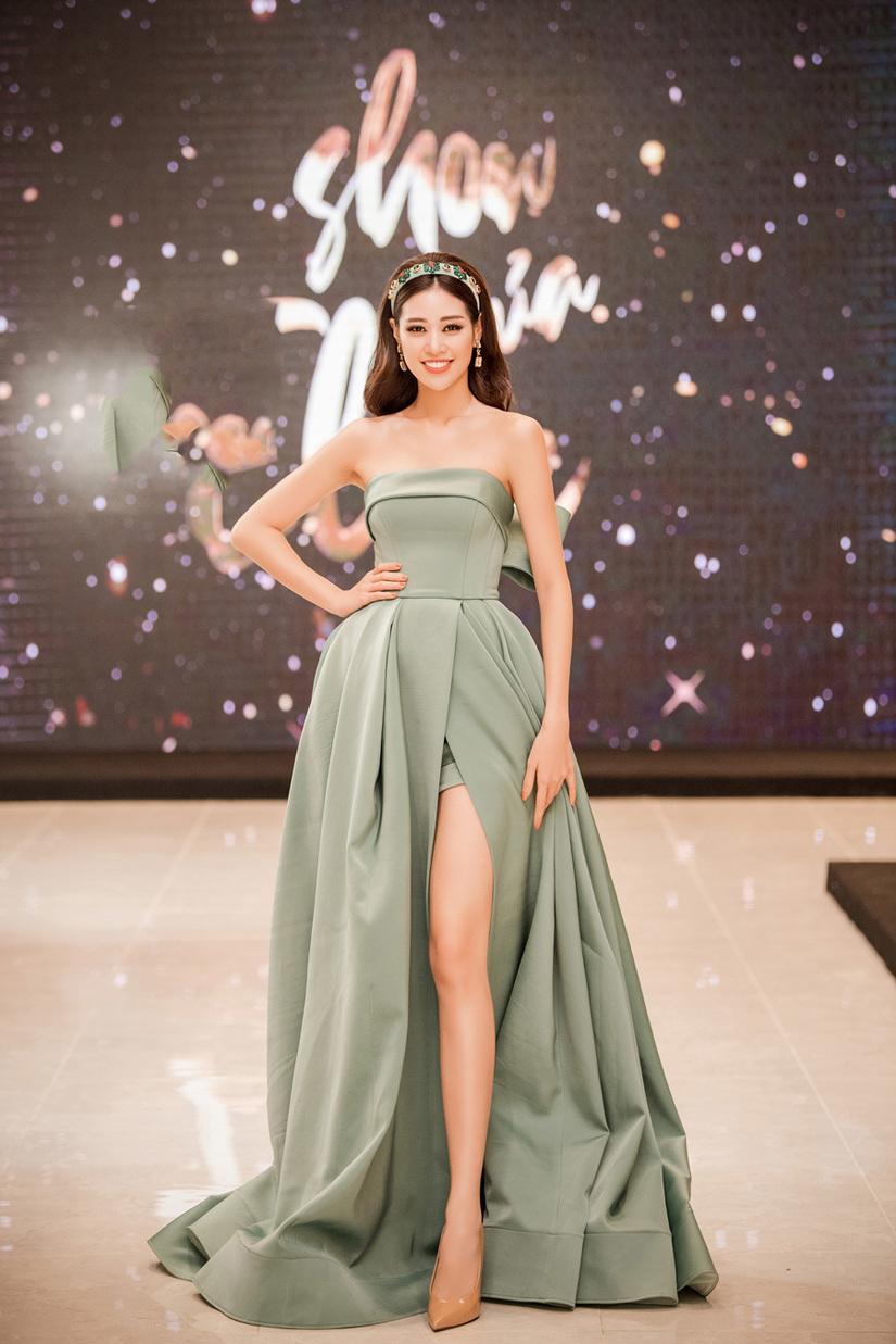 Hoa hậu Khánh Vân, Lệ Hằng, Lương Thanh đọ sắc trong cái rét Hà Nội