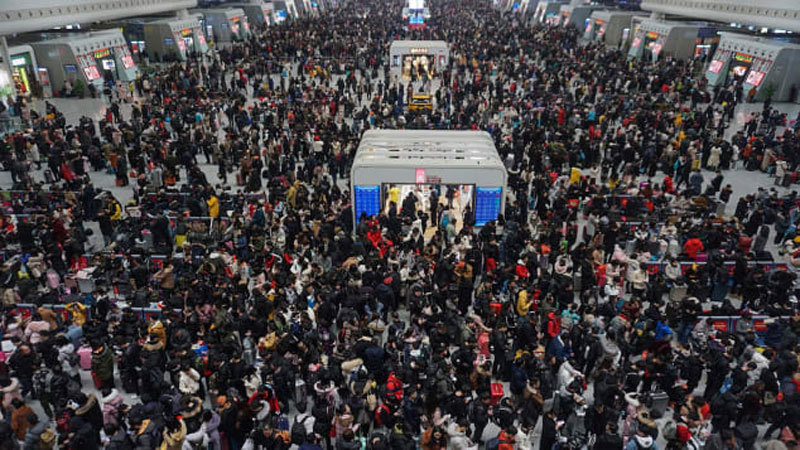 'Xuân vận' của tỷ người ở Trung Quốc dịp Tết Nguyên đán trơn tru nhờ công nghệ