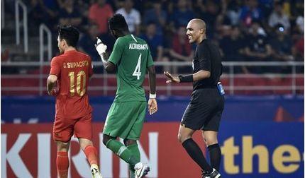 Đội nhà bị loại khỏi U23 châu Á, báo Thái đổ lỗi cho trọng tài