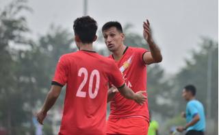 Đỗ Merlo giúp CLB Nam Định vô địch giải giao hữu Viettel 2020