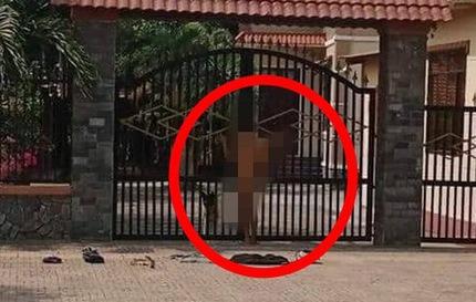 Cầu hôn không được, nam thanh niên lột đồ 'ăn vạ' trước cổng nhà bạn gái