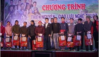 Ca sĩ Mai Trần Lâm tổ chức đêm nhạc từ thiện tại quê nhà Tuyên Quang