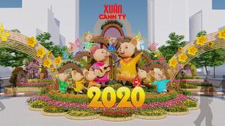 Có gì độc đáo tại điểm vui chơi Tết 2020 ở Sài Gòn?