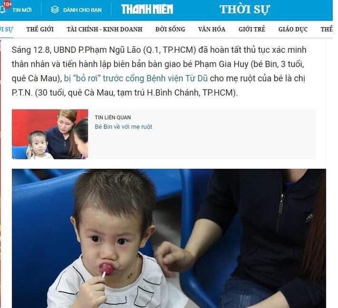 Sự thật thông tin bé trai 3 tuổi bị bắt cóc bán qua Trung Quốc