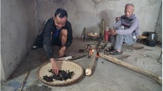 Thịt chuột khô, đặc sản dâng tổ tiên vào ngày Tết của người Dao Tiền