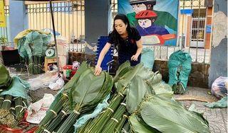 NSƯT Trịnh Kim Chi tiết lộ bí quyết gói bánh chưng ngon