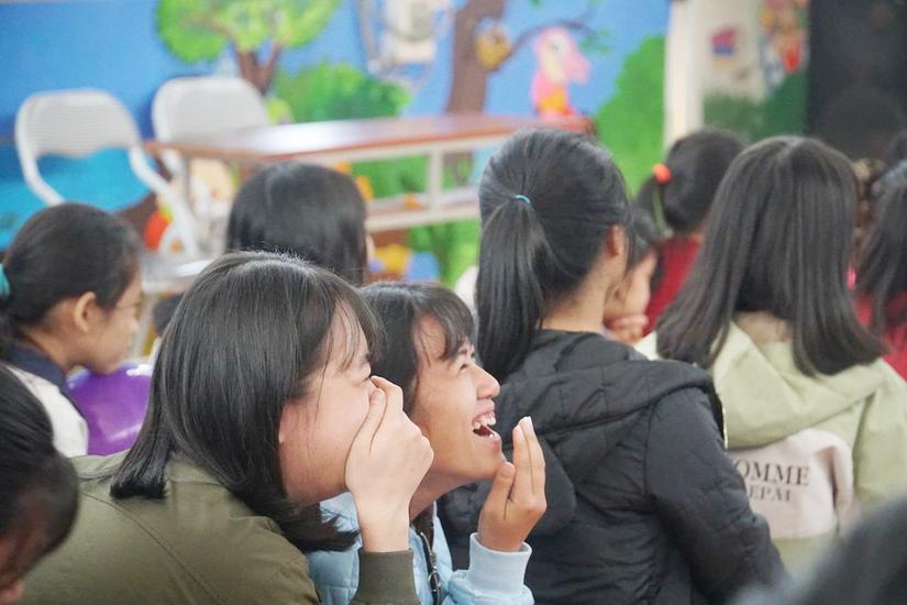 Rộn ràng không khí Tết dành cho trẻ em có hoàn cảnh đặc biệt tại Ba Vì, Hà Nội