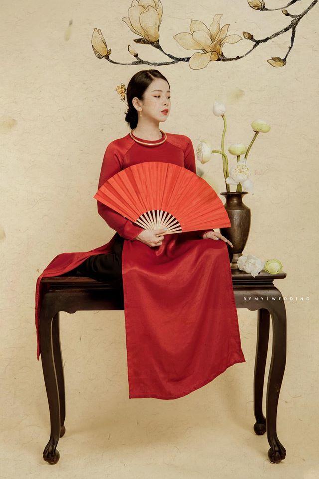 DJ Mie bật mí lý do năm nào cũng chụp ảnh với áo dài truyền thống8