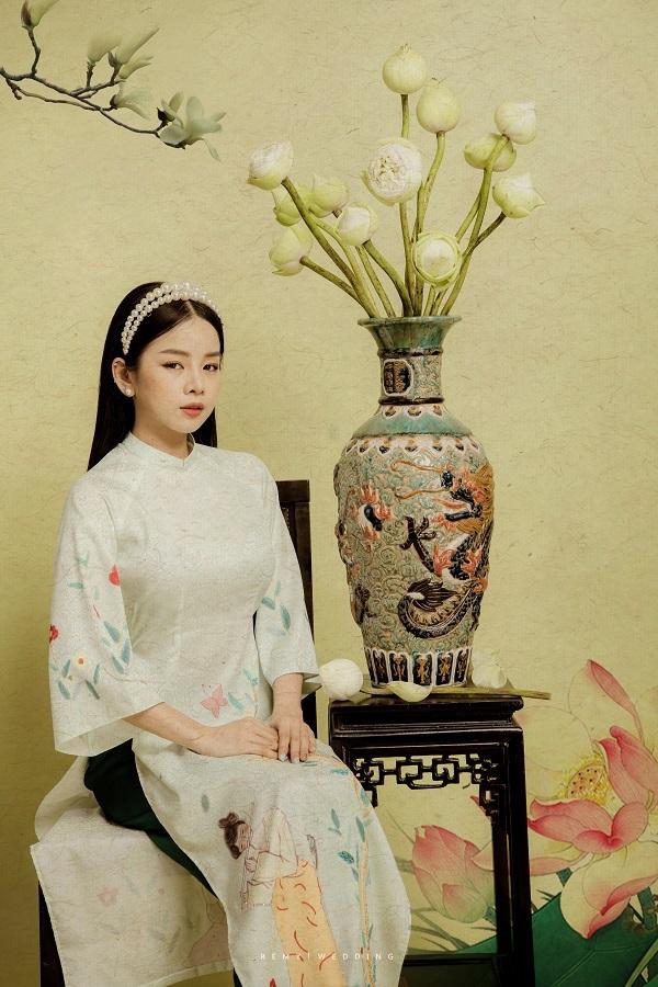 DJ Mie bật mí lý do năm nào cũng chụp ảnh với áo dài truyền thống3