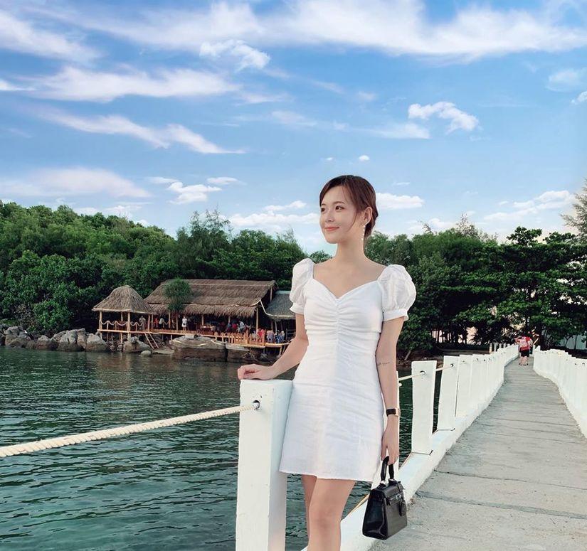 Hot girl dân tộc Thu Hương háo hức đón Tết đầu tiên ở đảo ngọc3