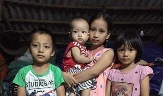 Nhói lòng, 4 đứa trẻ mất mẹ ước ao có một bộ quần áo đón Tết