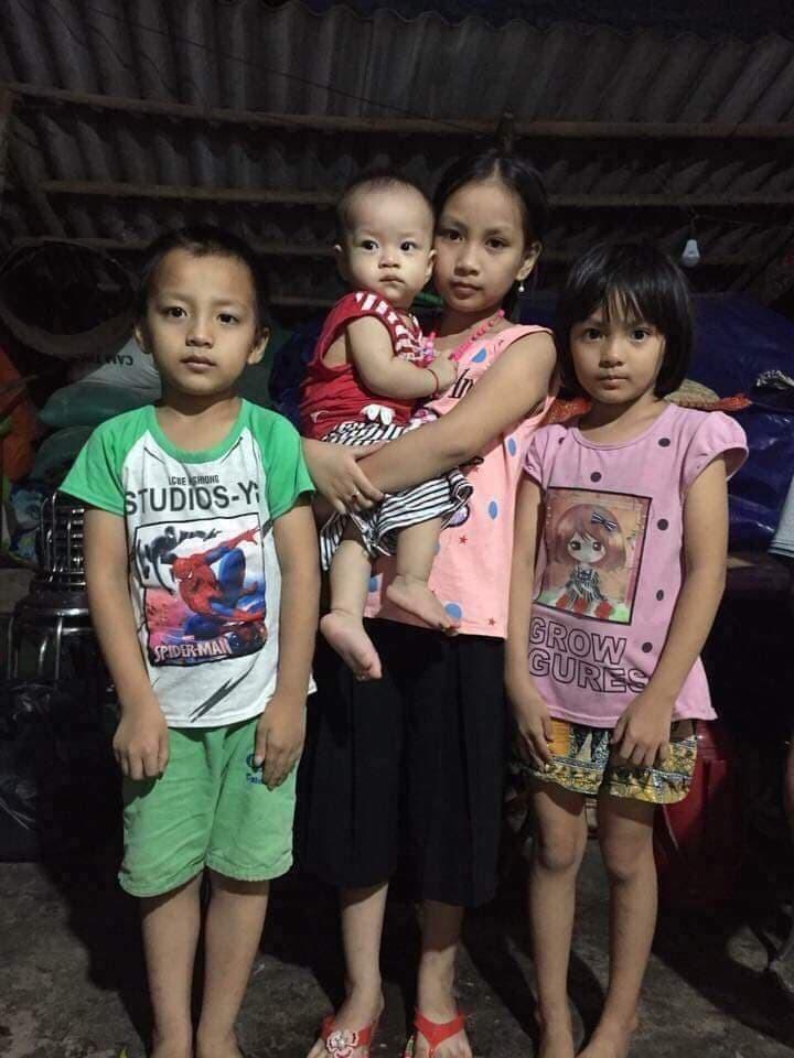 Mẹ tự vẫn để lại 4 đứa con bơ vơ và câu nói xót xa của bé gái