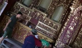 Nam Định: Công an truy tìm 2 kẻ trộm đồ vật hơn 120 năm tuổi