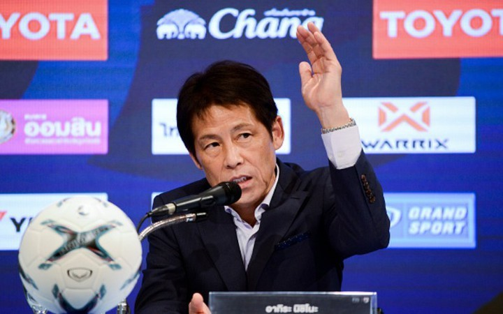 HLV Nishino mong muốn được cùng bóng đá Thái Lan dự World Cup