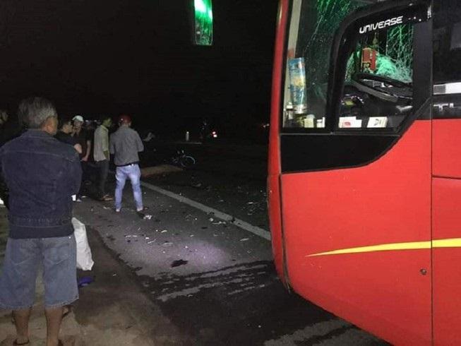 Đi họp lớp về, 3 thanh niên tử vong khi va chạm với xe khách