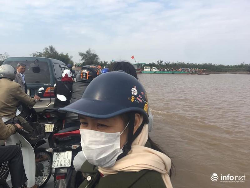 Kinh hãi những chuyến phà 'dỡn' mặt tử thần ở Nam Định - Ninh Bình 10