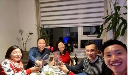 Đoàn Văn Hậu đón Tết cổ truyền ấm cúng cùng cộng đồng người Việt