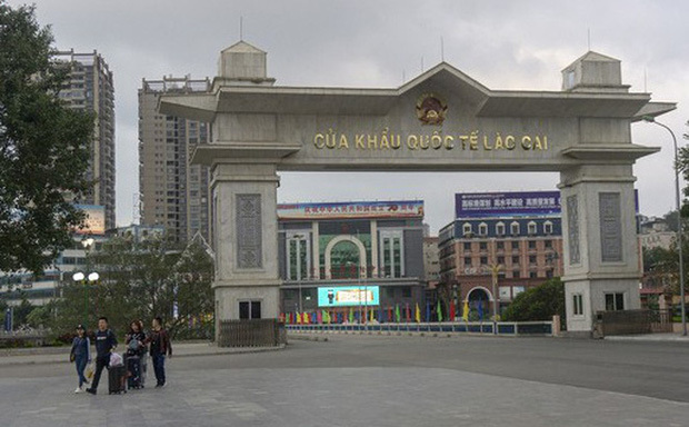 Cửa khẩu Quốc tế Lào Cai. Ảnh Đời sống Việt Nam