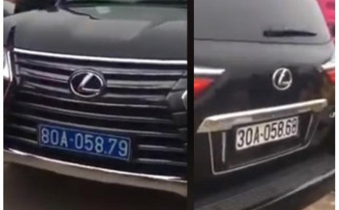 Xe Lexus đầu biển xanh, đuôi biển trắng: Biển nào là biển giả?
