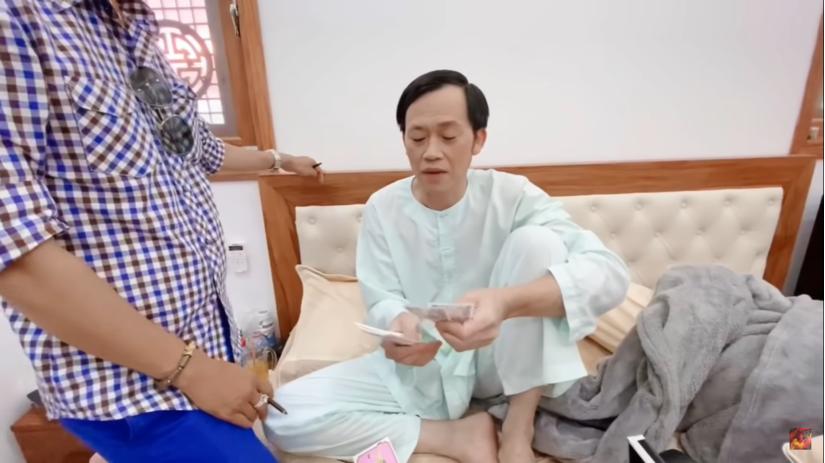 Hoài Linh 2 lần rút bao lì xì của Nam Thư và cái kết bất ngờ