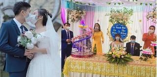 Chùm ảnh cưới 'phòng virus corona' của cặp đôi ở Thanh Hóa gây tranh cãi