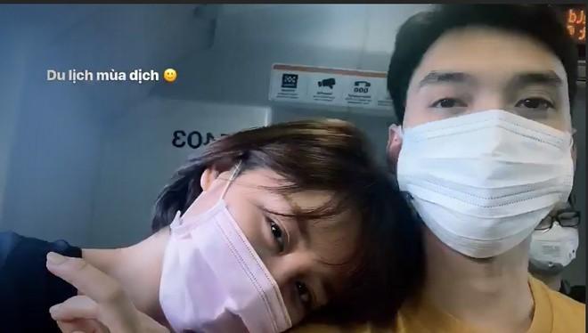 Văn Mai Hương đi du lịch cùng bạn trai giữa dịch corona