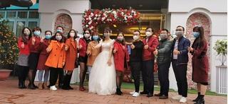 Đám cưới ở Thái Bình: Cô dâu chú rể và cả khách mời đeo khẩu trang kín mít