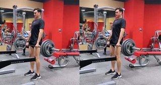 Đặng Văn Lâm đăng video tập gym, công khai bạn gái Yến Xuân