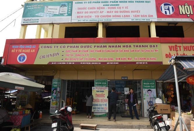 Tăng giá khẩu trang y tế, 1 doanh nghiệp ở Nghệ An bị đình chỉ kinh doanh
