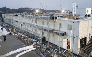 Cận cảnh bệnh viện xây dựng 'thần tốc' trong 10 ngày ở Vũ Hán để chống dịch corona