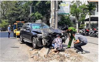 Lái xe Mercedes gây tai nạn kinh hoàng được đưa đi thực nghiệm hiện trường
