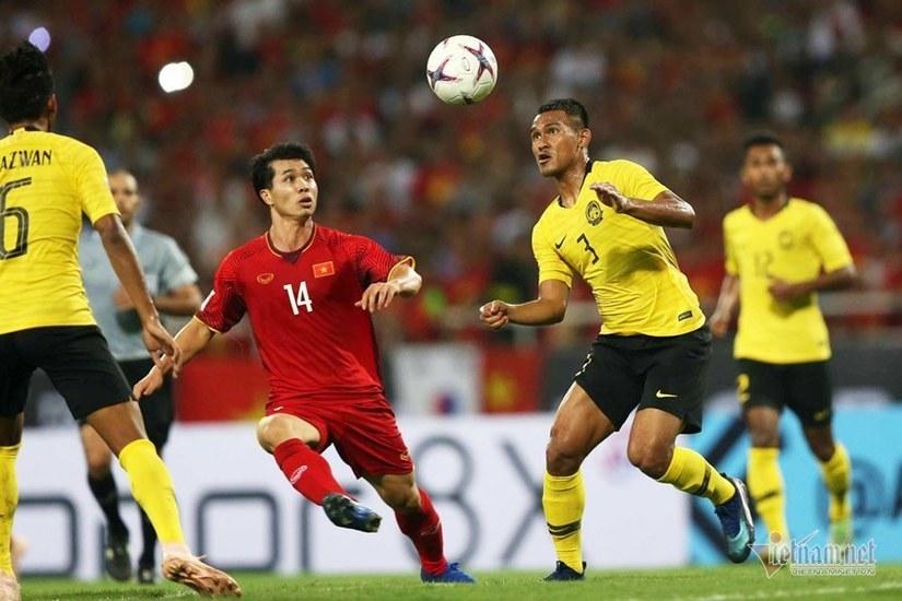 Malaysia sử dụng 7 cầu thủ nhập tịch tiếp đón tuyển Việt Nam ở vòng loại World Cup 2022