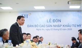 """Bộ trưởng Nguyễn Xuân Cường: """"Tập đoàn TH đã viết nên câu chuyện kỳ tích"""""""