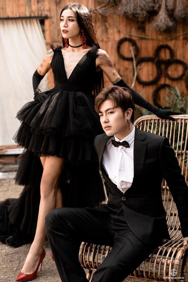 BB Trần nhá hàng bộ ảnh cưới 3 concept đẹp và chảnh bên người yêu10