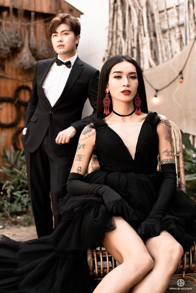 BB Trần nhá hàng bộ ảnh cưới 3 concept đẹp và chảnh bên người yêu11
