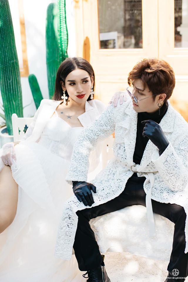 BB Trần nhá hàng bộ ảnh cưới 3 concept đẹp và chảnh bên người yêu2