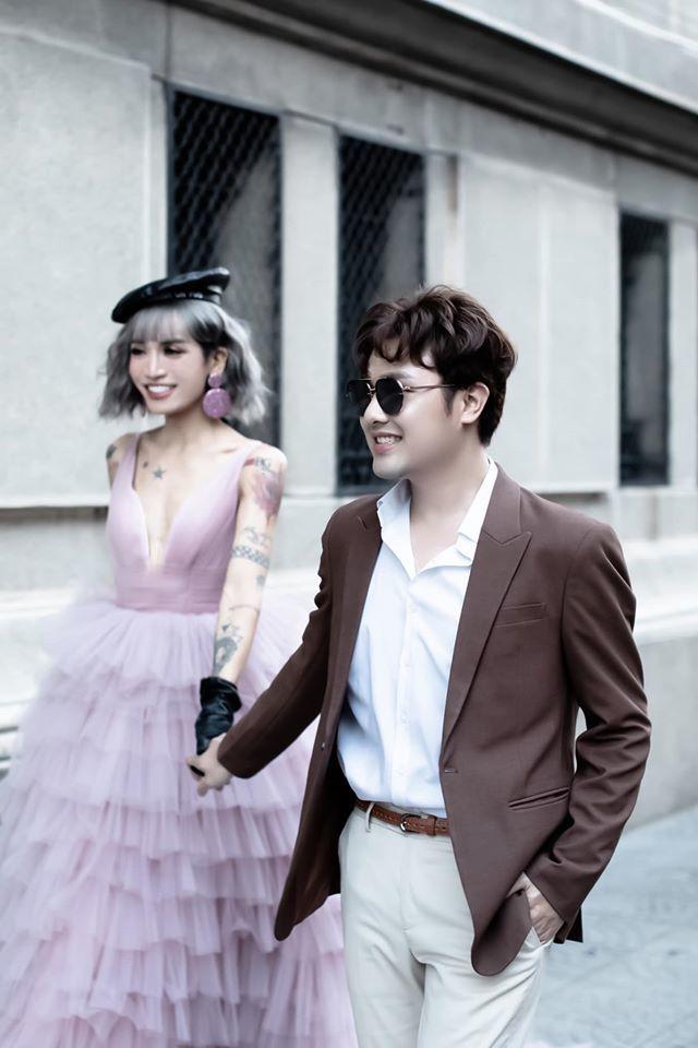 BB Trần nhá hàng bộ ảnh cưới 3 concept đẹp và chảnh bên người yêu13