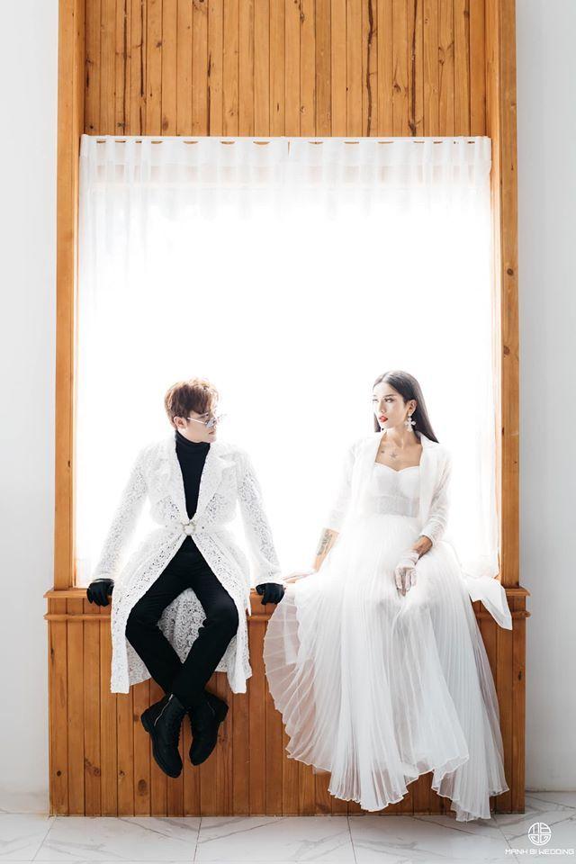 BB Trần nhá hàng bộ ảnh cưới 3 concept đẹp và chảnh bên người yêu5