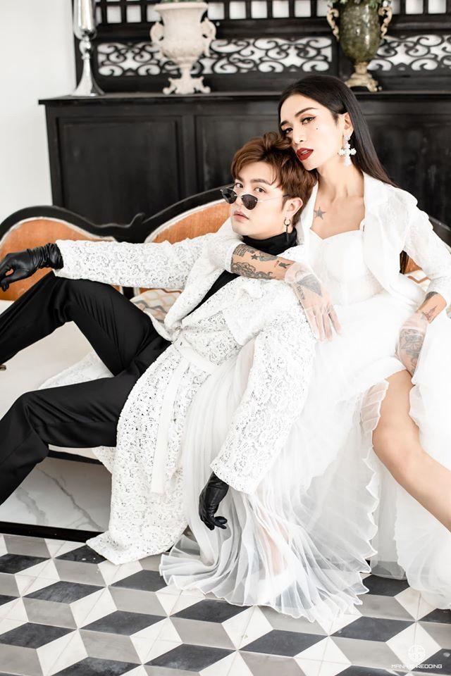 BB Trần nhá hàng bộ ảnh cưới 3 concept đẹp và chảnh bên người yêu