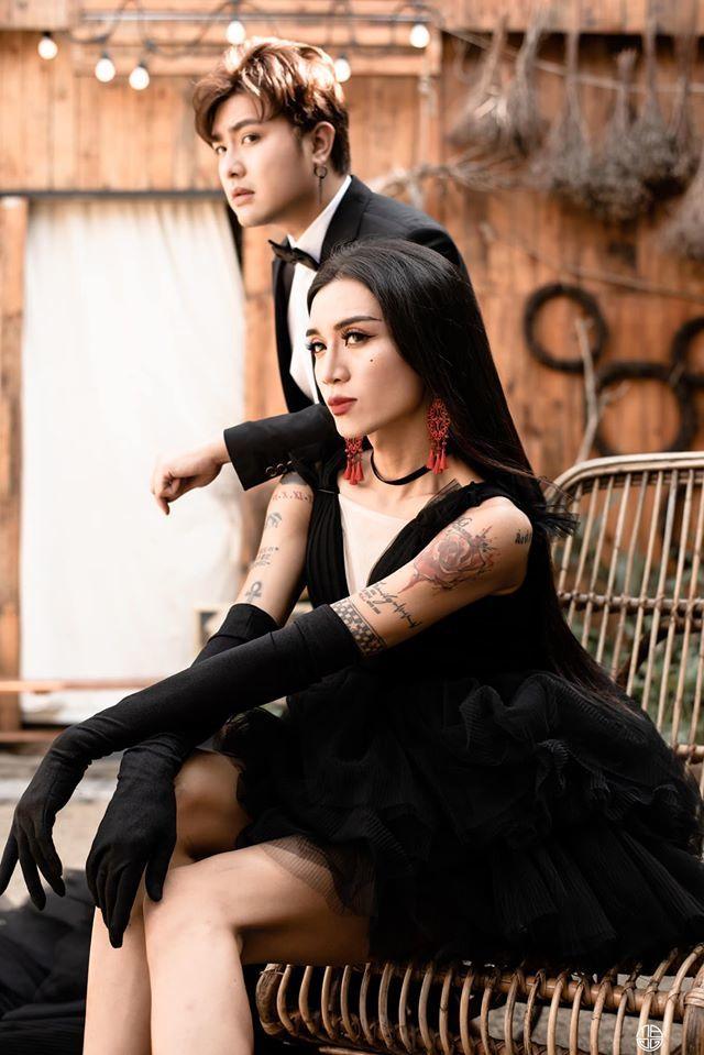 BB Trần nhá hàng bộ ảnh cưới 3 concept đẹp và chảnh bên người yêu8