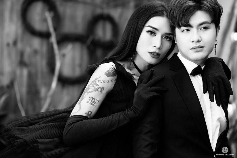 BB Trần nhá hàng bộ ảnh cưới 3 concept đẹp và chảnh bên người yêu9